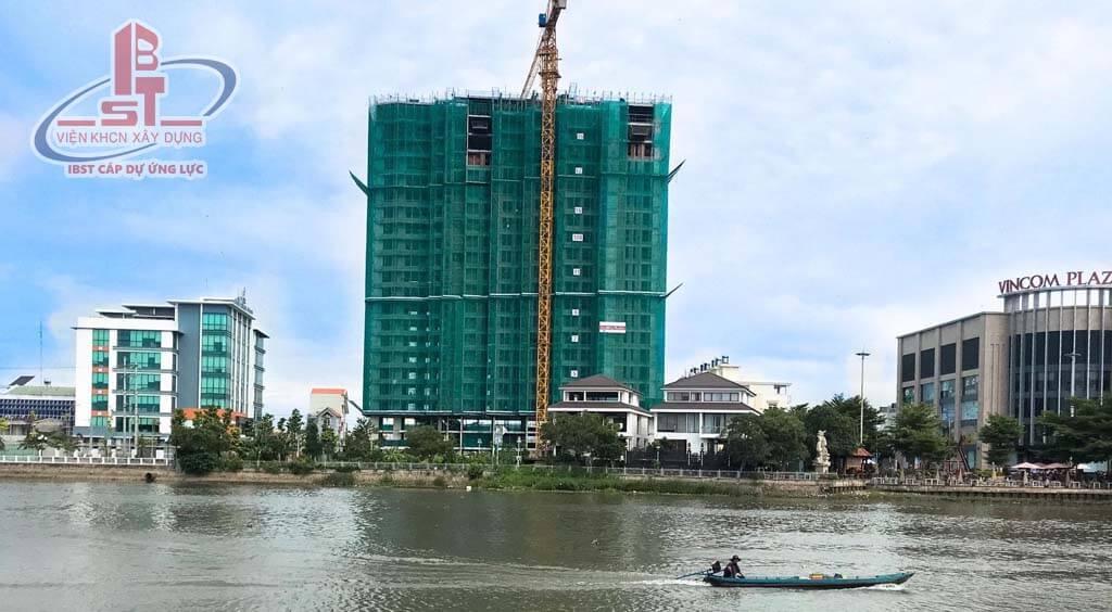 IBST thi công sàn phẳng không dầm dự án chung cư marina plaza