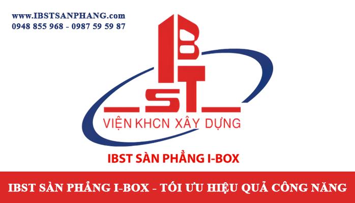 Giải pháp thi công Sàn Phẳng I-BOX | Phân Viện KHCN Xây Dựng IBST/S