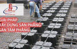 Tìm hiểu giải pháp xây dựng sàn phẳng, sàn tấm phẳng – IBST