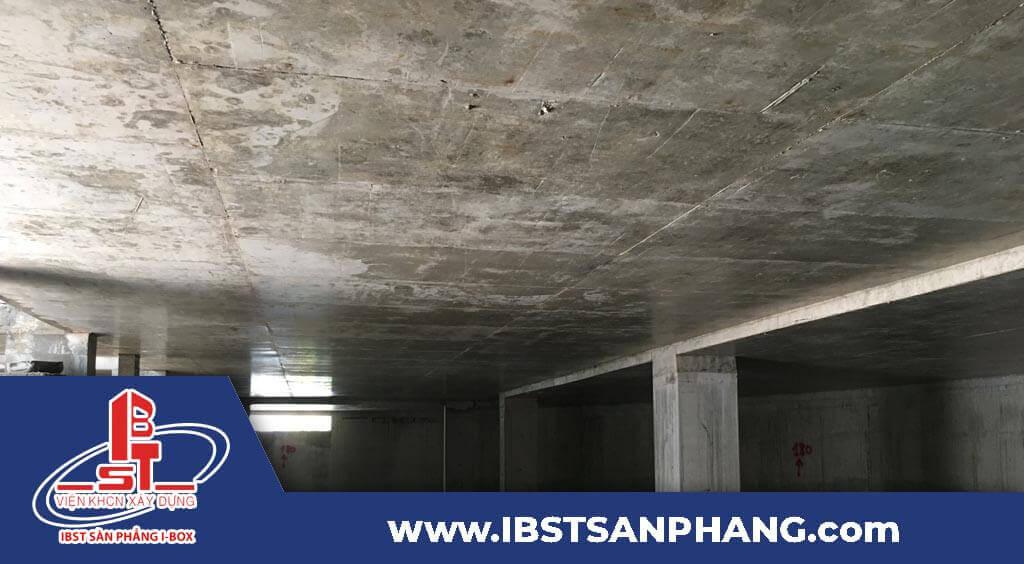 Quy trình thi công sàn phẳng i-box tại IBST